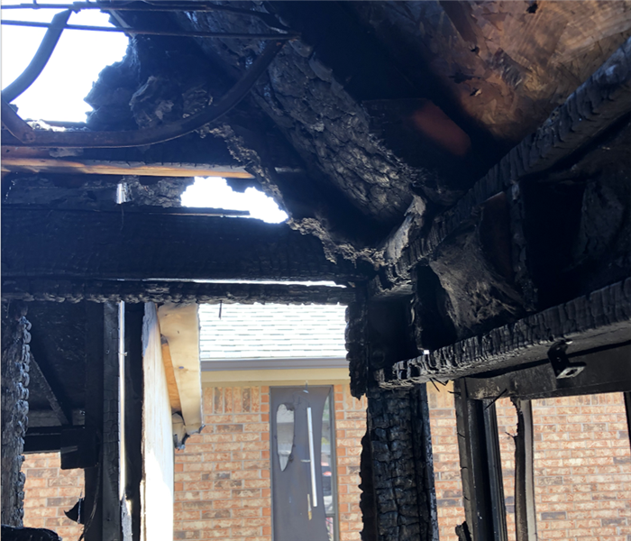Fire Damage Restoration in OKC Before