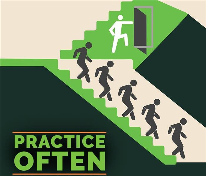 Practice regularly your fire escape plan with your employees